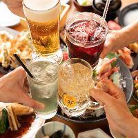 刺身盛や旬の酒肴など、お酒がススム絶品料理が勢揃い!