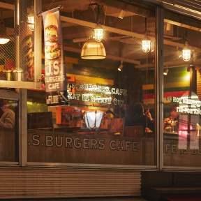 J.S.BURGERS CAFE 原宿店