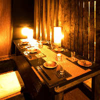 会食や接待にオススメの完全個室です◎
