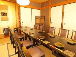 【お座敷個室】 接待・宴会・会食に*7名様~ご予約可