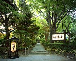 歴史を感じる一万坪の日本庭園が広がる別天地へ誘います…