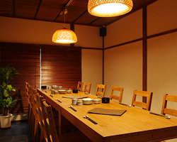 【個室宴会最大18名様まで】 2階でゆったりと!!!