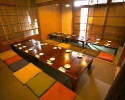 ◆宴会個室~30名 個室は6名様~OK!法事・慶事・ご宴会に◎