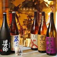 日本全国の芋・麦・米・黒糖・変わり種などの焼酎から厳選