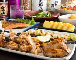 地元産の食材を使った宴会料理 ご予算に合わせてご用意します!