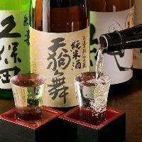 鮮魚×日本酒は相性◎!全国各地の地酒をお楽しみください。
