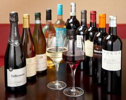 各種ワインを取り揃えております