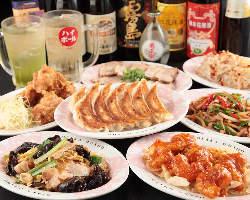 幹事さん必見!! 食べ飲み放題3,180円~ご用意。
