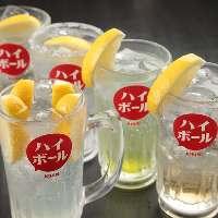 酒場としても利用も大歓迎。中華宴会には大阪王将を。