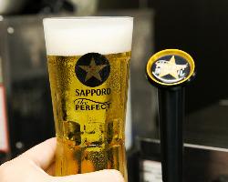 【パーフェクト黒ラベル】 スッキリ切れのあるビールをどうぞ!