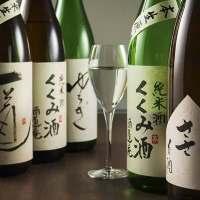 純米のこだわったお酒をご用意。
