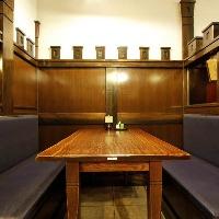 ご家族連れや中人数でのお食事に最適なテーブル席(3名~6名様)