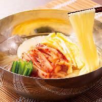 盛岡冷麺は岩手県の製麺所から取り寄せの本格派