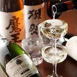 泡もワインも日本酒も焼酎も全てこぼして驚愕のALL490円!!