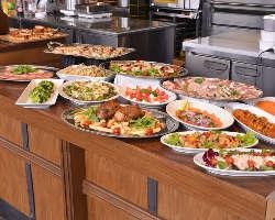 【立食もOK】 ビュッフェ形式のお料理もご用意可能です