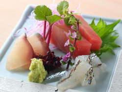静岡県沼津港より直送されるその日最高のお魚をご提供