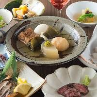 美味しいお料理とお酒、温かいおもてなしでお迎え致します。