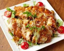 【肉づくし】 牛のカツレツ ミラノ風オーブン焼
