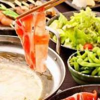 イタリア産ドルチェポルコ豚しゃぶ食べ飲み放題が2h3,980円!◎