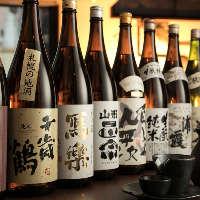 東北・北海道の地酒を多数ご用意!希少な地酒に出会えるかも?
