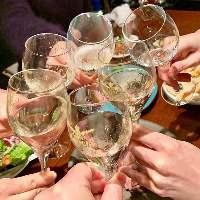 大人数宴会も大歓迎!生ビールもOKの飲み放題付コース3500円~