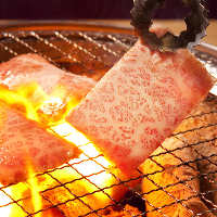 お得な焼肉食べ放題3,480円~!口の中でとろける絶品お肉に舌鼓