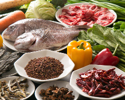 医食同源の考えを元にした健康的中華をご提供致します。