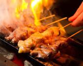 遠赤外線で焼いた、食べごたえ抜群の焼鳥☆安心の国産鶏使用