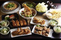 鶏食べ飲み放題コース2800円(税込)!他にもコースを多数ご用意!