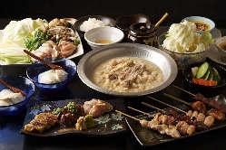 コース料理は2500円~です! 食べ放題、飲み放題コースも用意!
