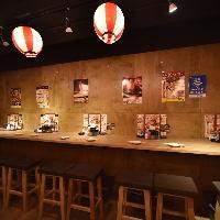 【六本木駅1分】カウンター・テーブル席完備。宴会最大20名様迄