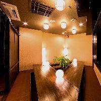 選べる様々な個室!4~80名様まで対応。宴会・飲み会に◎