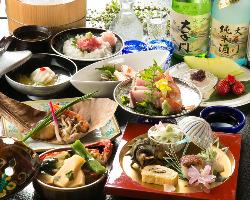 旬食材の素材味活かす板さんの技、ぜひご堪能下さい