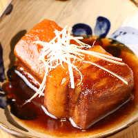 【ラフテー】 沖縄の豚角煮。長時間煮込んで柔らかい!