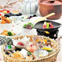 京のおばんざいを中心としたお食事コース3,600円~!
