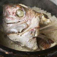 一度は食べたい銀平名物鯛めしは、素材が活きた優しい味わい