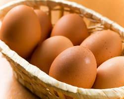 【ランチサービス】 お昼のは新鮮な生卵を無料サービス!
