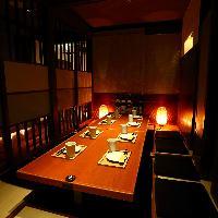 暖簾の個室も落ち着ける雰囲気♪浜松駅からも近いのでオススメ♪