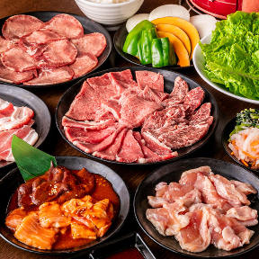 食べ放題 元氣七輪焼肉 牛繁 竹ノ塚店