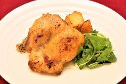 ◆若鶏もも肉のコンフィ◆