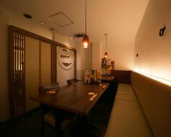 20名様までご利用いただける個室は、同窓会や女子会にも最適です