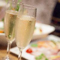 ワイン【赤・白】スパークリングワインなど種類豊富にご用意!!
