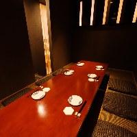 掘り炬燵式の完全個室