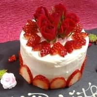 ◆バースデーケーキはご希望の形を手作りで♪目一杯の拘りを◆