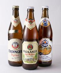 豊富な種類のドイツビール!