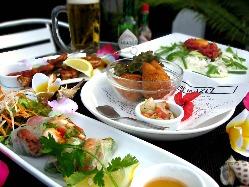 世界各国のお料理を日本人が食べやすくアレンジしてます!