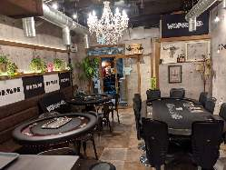 【お洒落な店内】 インテリアや装飾品にこだわる上品な空間