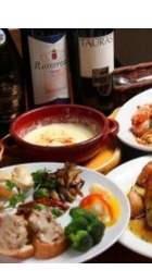 Partyや記念日などのお祝いに◎コース料理2,750円(税込)~