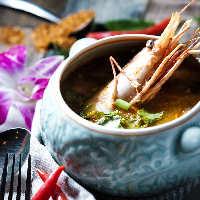 北海道産海産物とタイ料理のコラボレーション♪