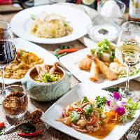新橋汐留で本格タイ料理をリーズナブルに。